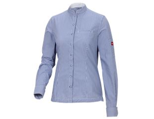 e.s. Work blouse mandarin, ladies'