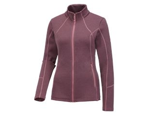 e.s. Functional sweat jacket melange, ladies