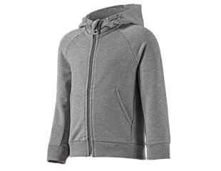e.s. Hoody sweatjakke cotton stretch, børn