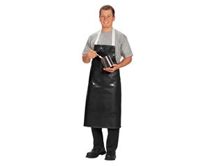 Synthetic leather apron