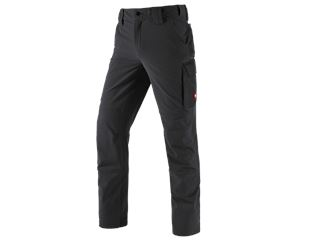 Winter funct. cargo trousers e.s.dynashield solid