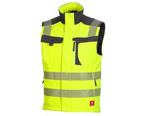 High-vis softshell bodywarmer e.s.motion