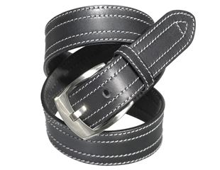Leather belt Baxter