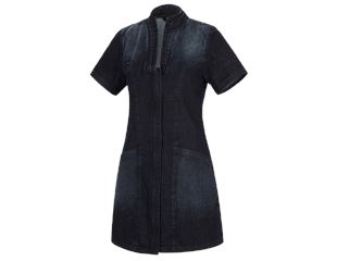 Kort tunika kittel denim e.s.fusion