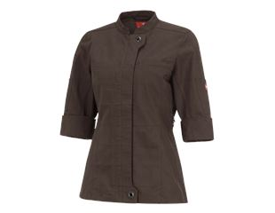 Work jacket 3/4-sleeve e.s.fusion, ladies'