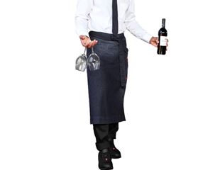 Catering Apron denim e.s.fusion, men's