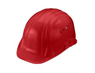 Safety helmet Baumeister, 6-point, rotary fastener