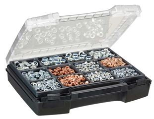 Hex nuts DIN 985, 325 pieces