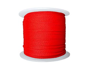 Polyethylene Cords, red 100 m