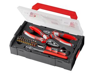 e.s. Force pliers and bit box in e.s. Boxx mini