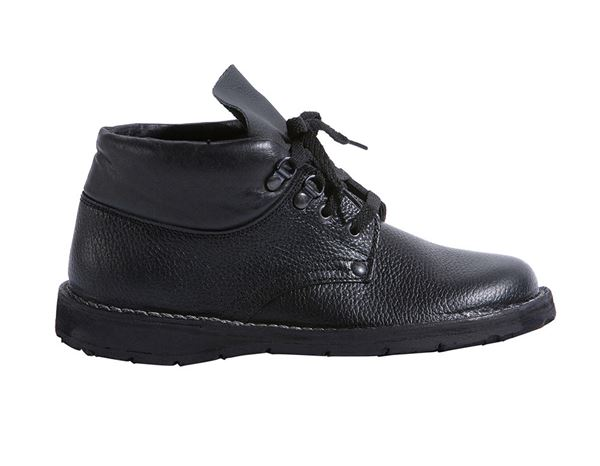 Other Work Shoes: Roofer's Safety shoes Super with laces + black