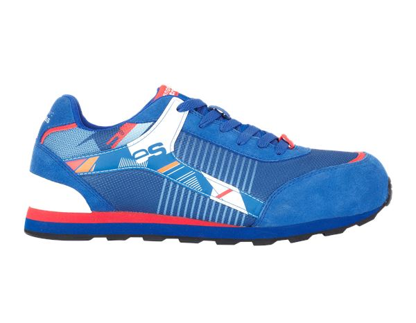 Safety Shoes S1: e.s. S1 Safety shoes Sirius + royal/red/white