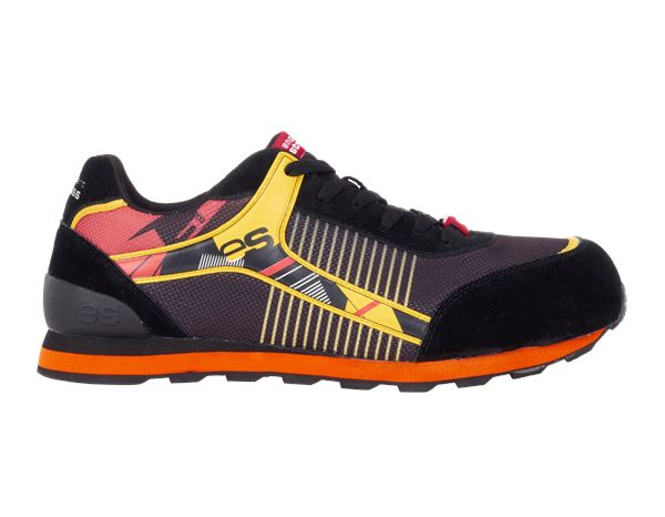 Safety Shoes S1: e.s. S1 Safety shoes Sirius + black/high-vis yellow/red
