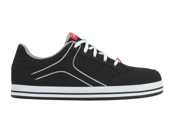 Safety Shoes S1: e.s. S1 Safety shoes Tolosa low + black/lightgrey
