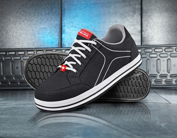 Safety Shoes S1: e.s. S1 Safety shoes Tolosa low + black/lightgrey 1