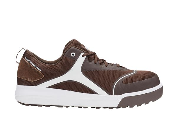 S1: e.s. S1 Safety shoes Vasegus low + chestnut