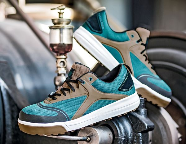 S1: e.s. S1 Safety shoes Vasegus low + darkcyan 1