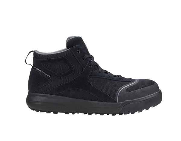 Safety Shoes S1: e.s. S1 Safety boots Vasegus mid + black