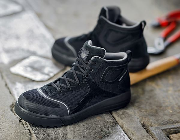 S1: e.s. S1 Safety boots Vasegus mid + black 1