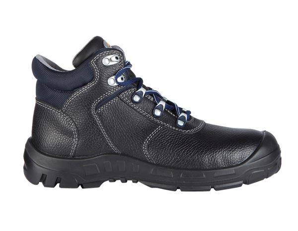 Safety Shoes S3: STONEKIT S3 Safety boots Detroit mid + black