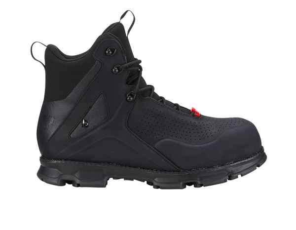 S3: e.s. S3 Safety boots Barrex mid + black