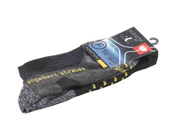 Socks: e.s. Allround functional socks light/high + black 1