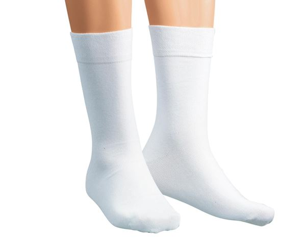 Socks: Healthcare socks classic light/high, pack of 2 + white
