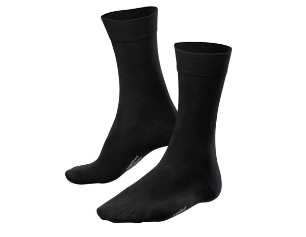 e.s. Business socks classic light/high, pack of 2 black