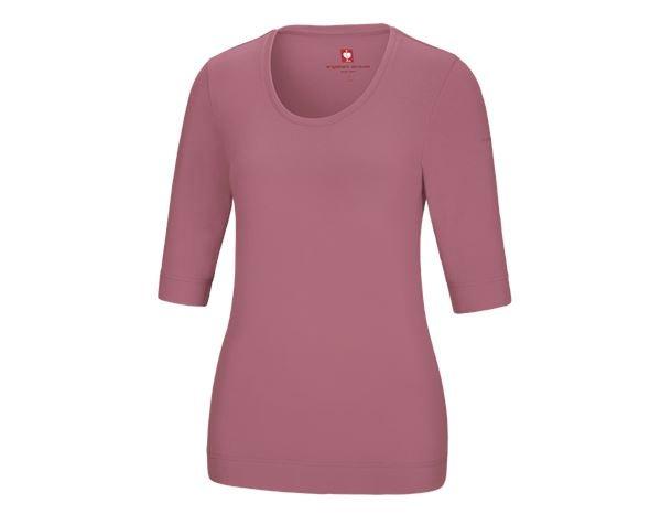 e.s. Shirt 34 ærmer cotton stretch, damer gammelrosa