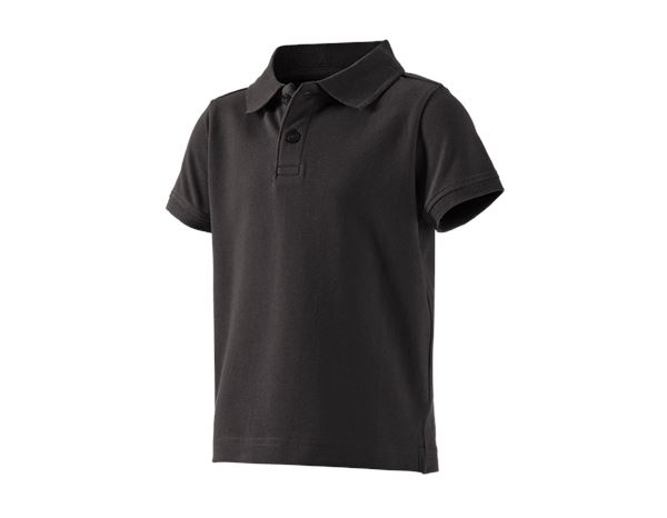 Shirts, Pullover & more: e.s. Polo shirt cotton stretch, children's + black
