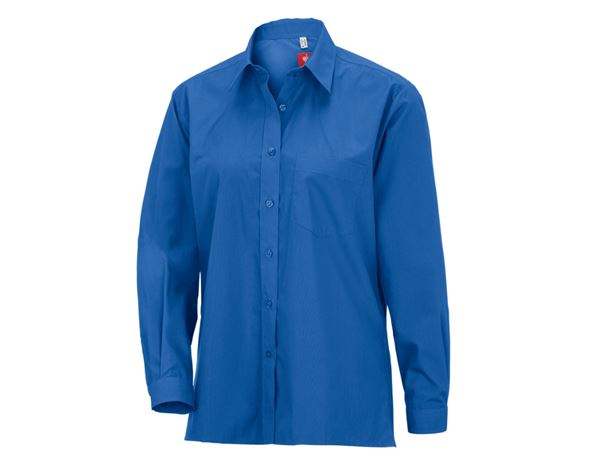Blouses: e.s. Ladies' blouses, long sleeved + royal