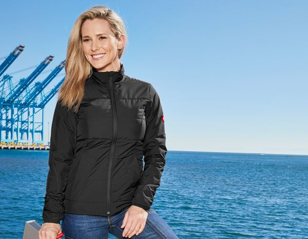 Work Jackets: Windbreaker e.s.motion 2020, ladies' + black/anthracite