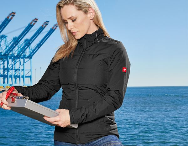 Work Jackets: Windbreaker e.s.motion 2020, ladies' + black/anthracite 1