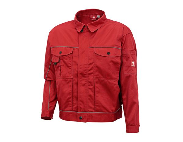 Work Jackets: Work jacket e.s.classic + red