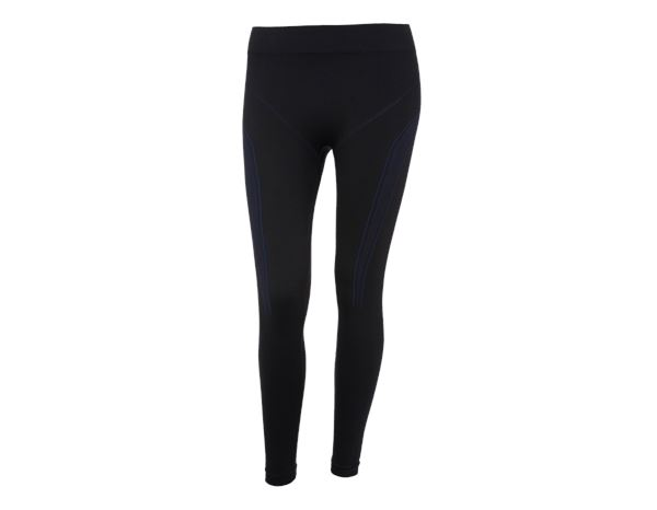 e.s. lange pants seamless warm, damer sortensianblå