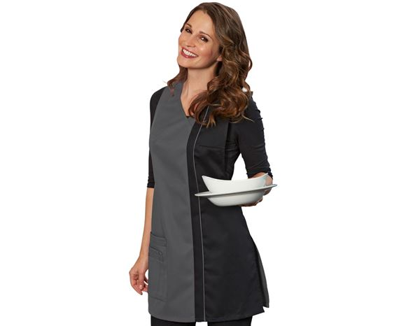 Shirts, Pullover & more: Tabard Franziska + grey/black