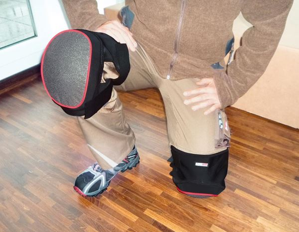 Knee Protectors: Knee pads power-soft + black 1