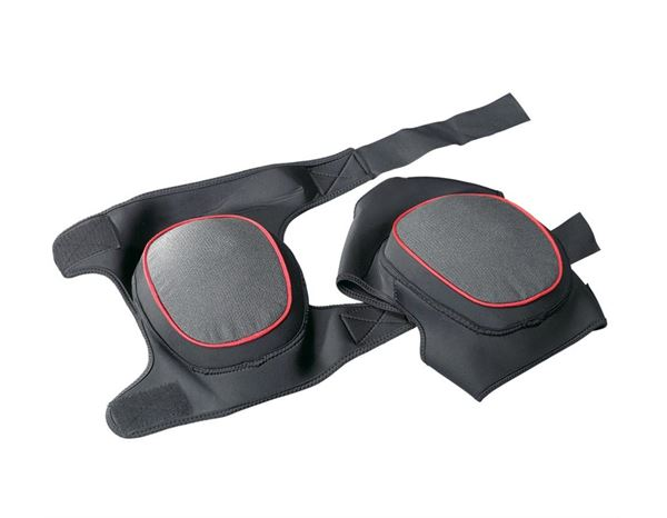 Knee Protectors: Knee pads power-soft + black