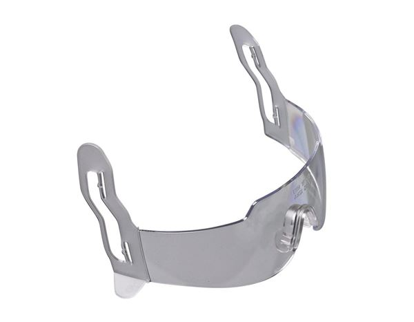 Safety Glasses: Integrated helmet goggles