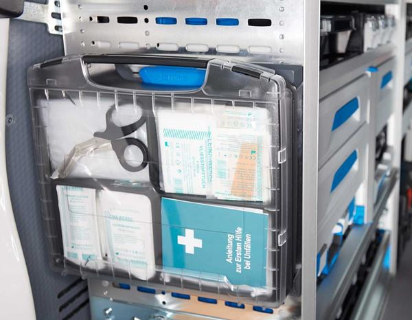 First Aid Kits | Closets: Company first aid kit DIN 13 157:2009 2