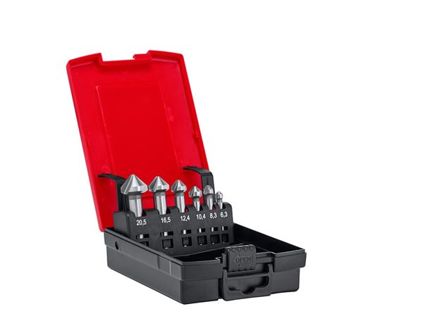 Drills: e.s. Counter sink set HSS classic