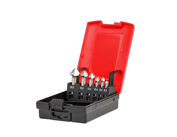 Drills: e.s. Counter sink set HSS classic 1