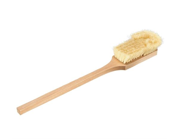 Brooms / Brushes / Scrubbing  Brushes: Fender Brushes Fibre, tall with a beard