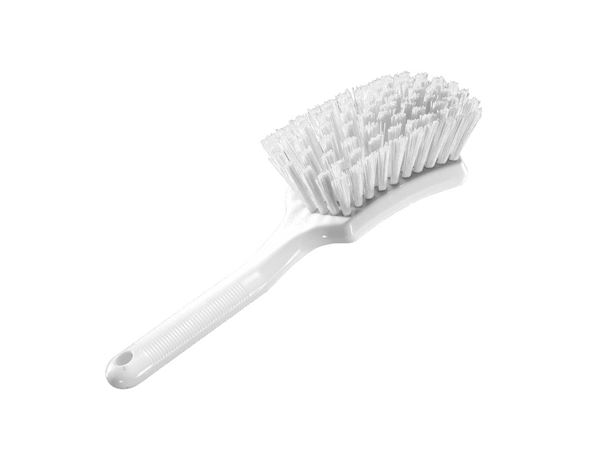 Brooms / Brushes / Scrubbing  Brushes: Handled hand brush + transparent
