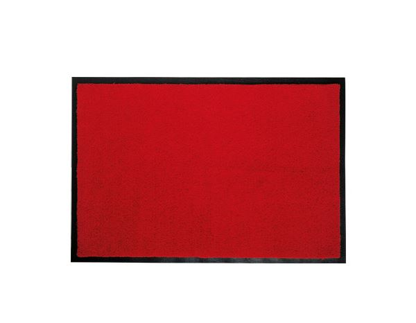 Entrancemats: Comfort mats with rubber edge + red